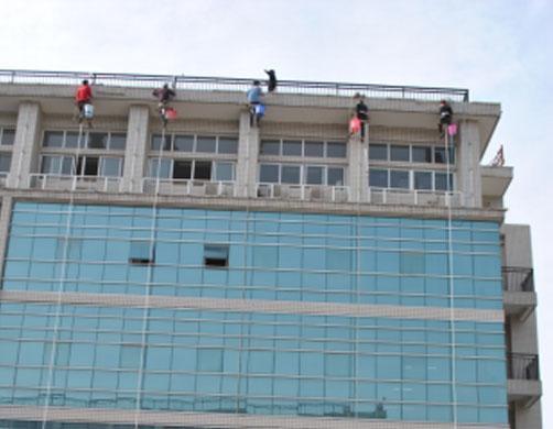 高空外墙清洗-十堰外墙清洗